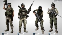 Battlefield 3 Multiplayer Character Profiles, Pre-Order Bonuses, and Limited Editions