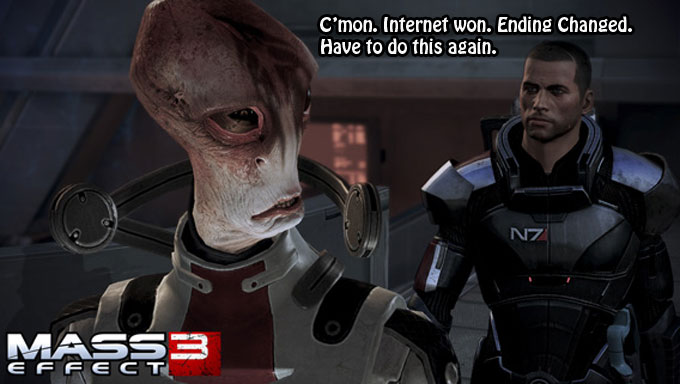 Bioware Caves: Mass Effect 3 Getting 'New Content'