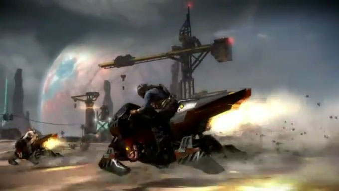New Starhawk Trailer Reveals Jetbikes and Tanks