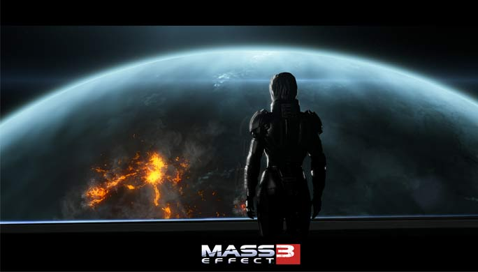 Mass Effect 3 Earth DLC Leaked