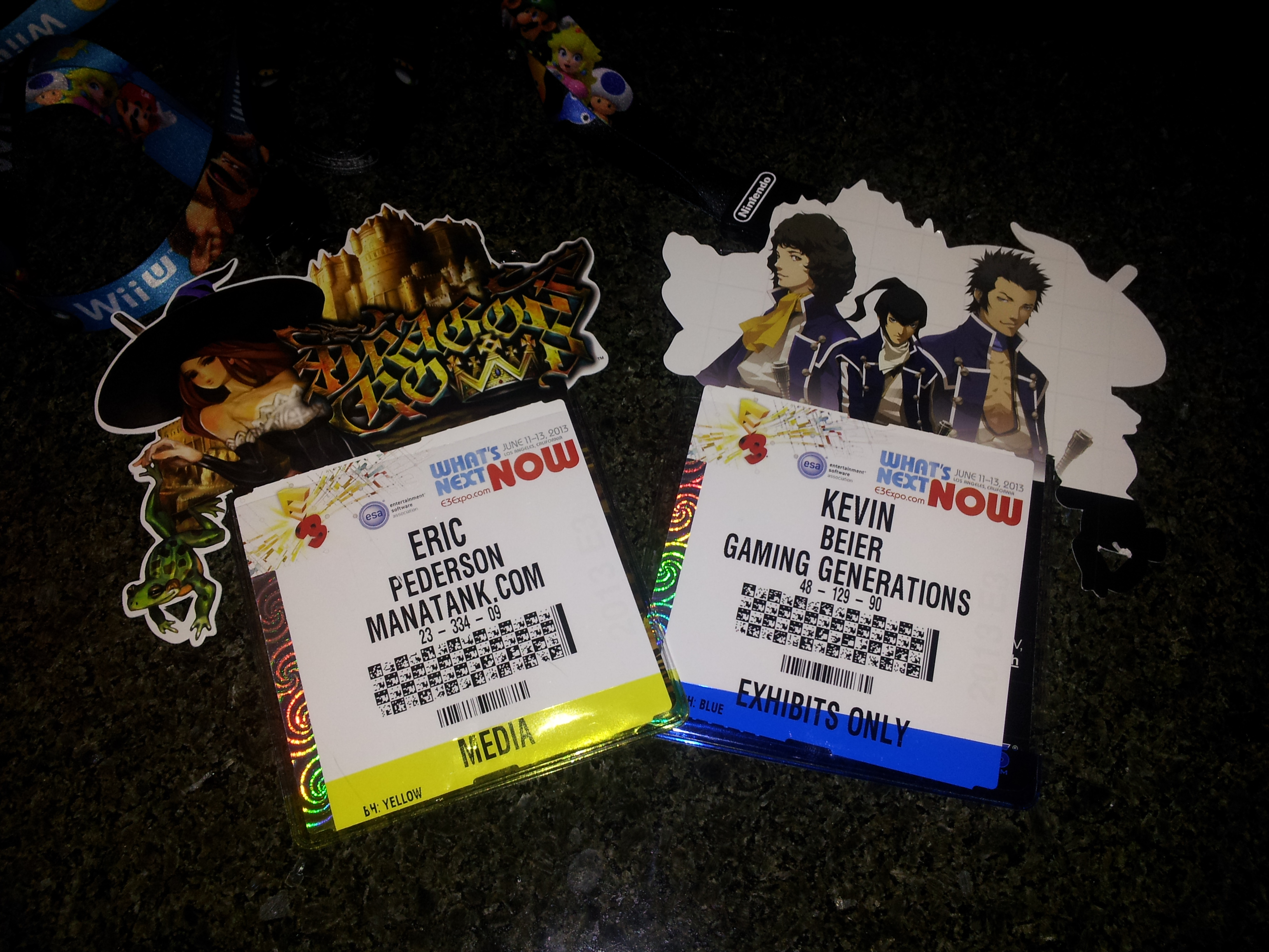 E3 2013: Check In Day